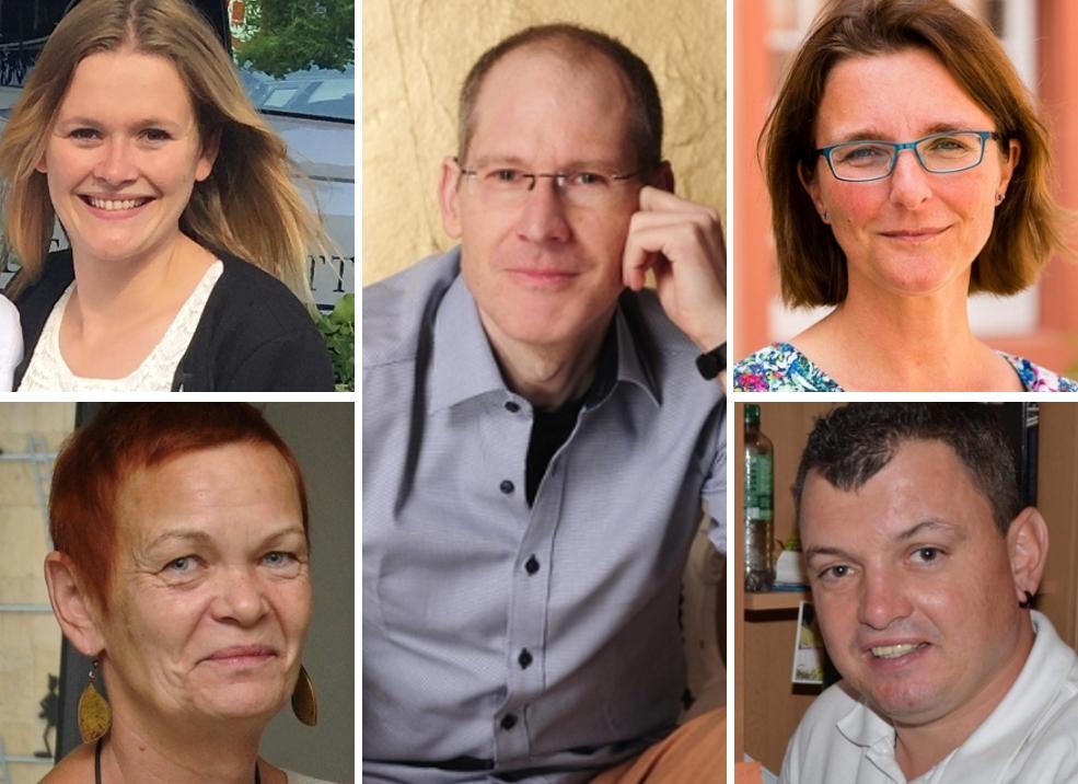 Gruppenfoto Vorstand Deutsche Epilepsievereinigung 2020