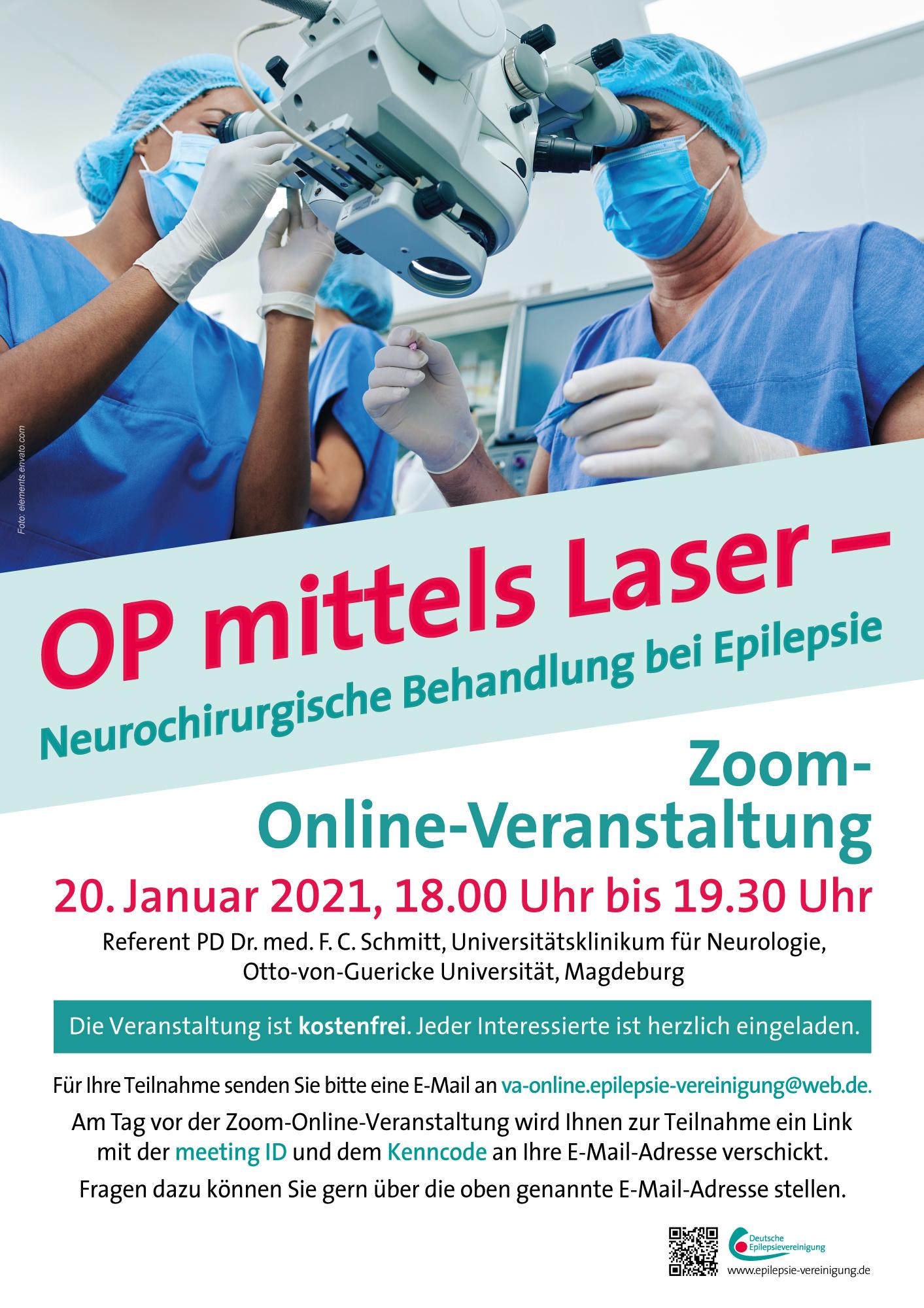Online-Vortrag zu Epilepsie-Operationen