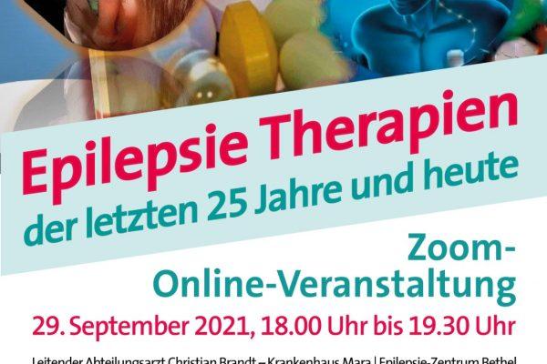 Plakat Epilepsie-Therapie 25 Jahre