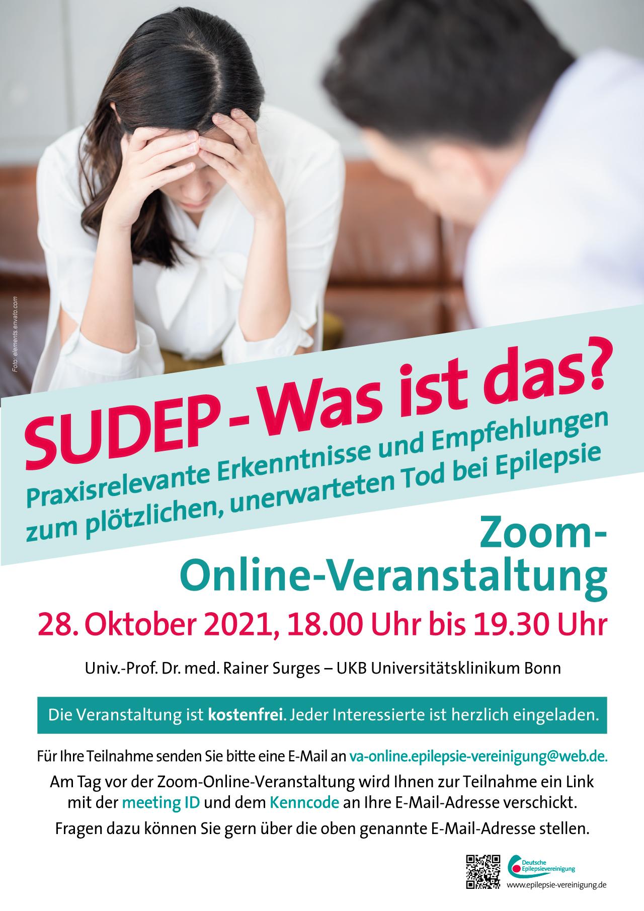 Online-Vortrag zu SUDEP